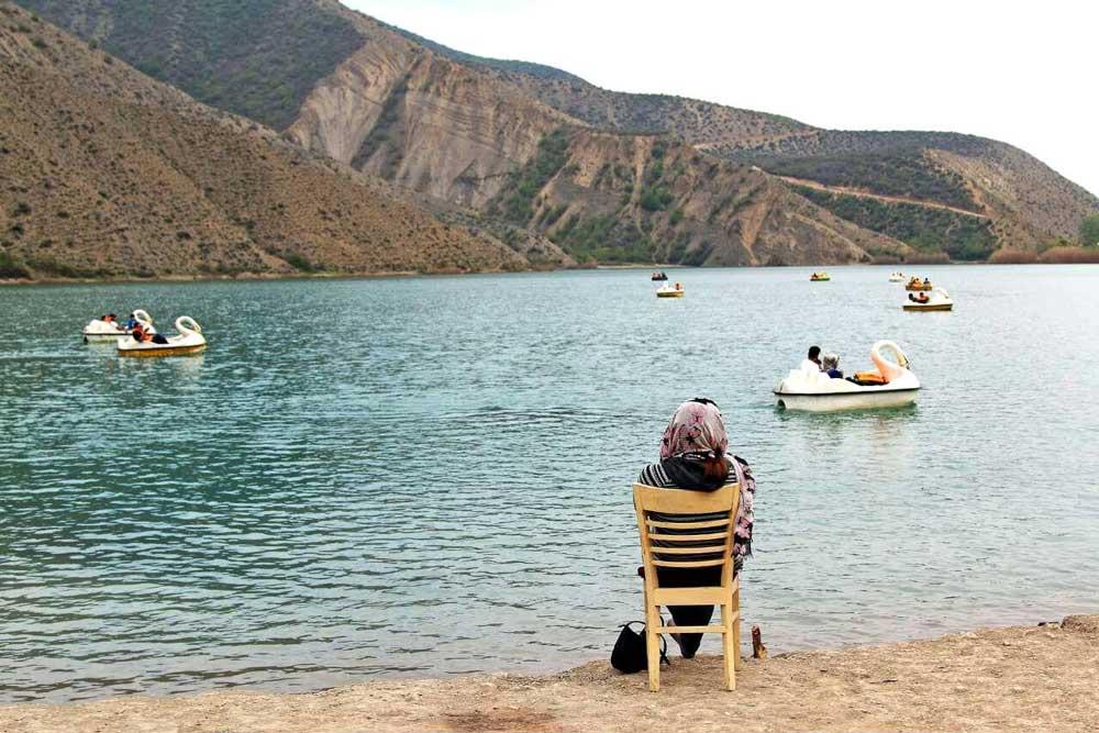 تفریحات دریاچه ولشت کلاردشت