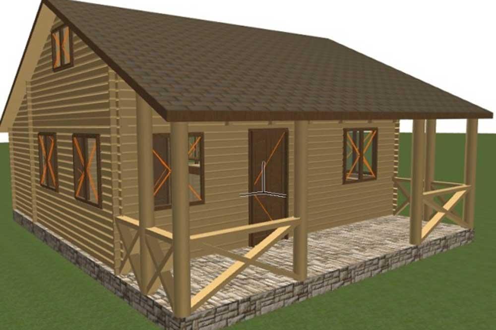 کلبه چوبی پیش ساخته