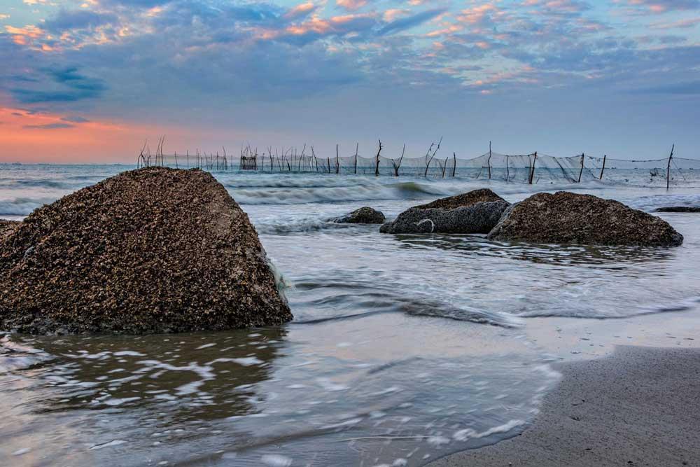 ساحل گیسوم، بهترین سواحل شمال