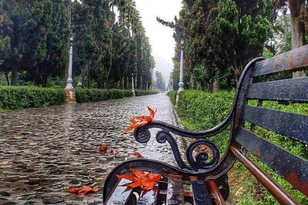 آب و هوای رامسر در پاییز